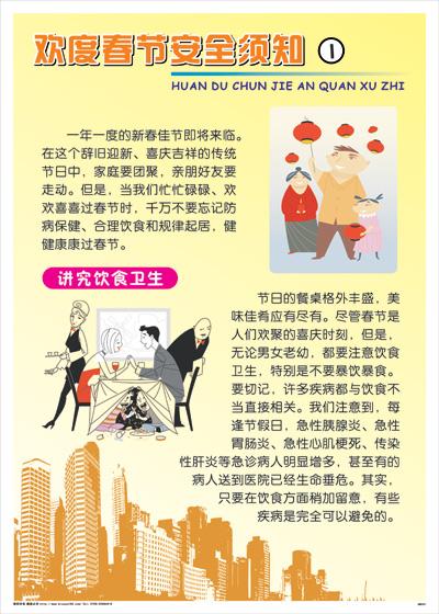 AWH01欢度春节安全须知1-将就饮食卫生